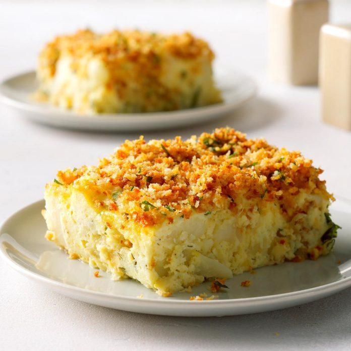 Cauliflower Dill Kugel