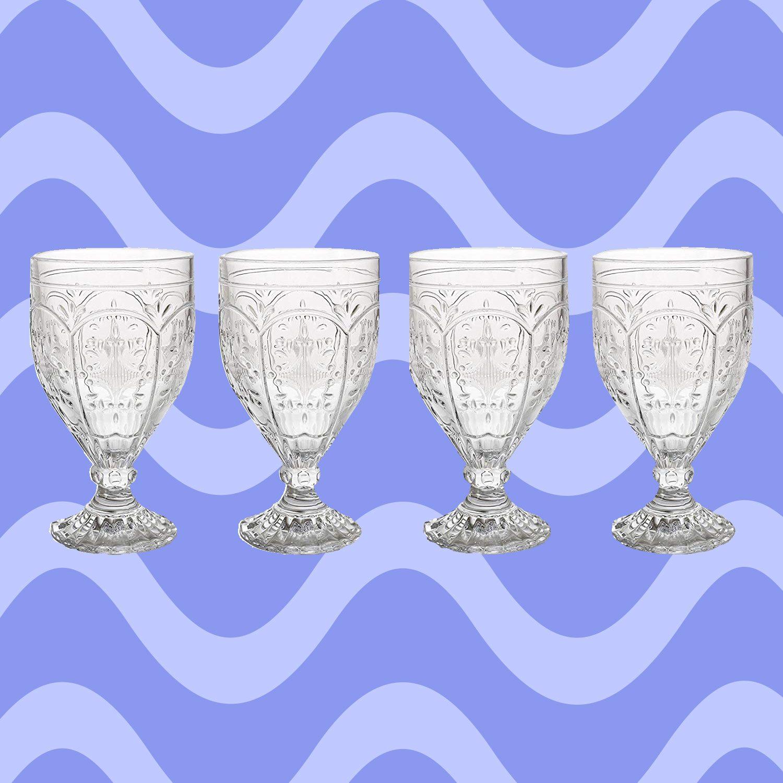 10 Gorgeous Vintage Drinking Glasses We Love