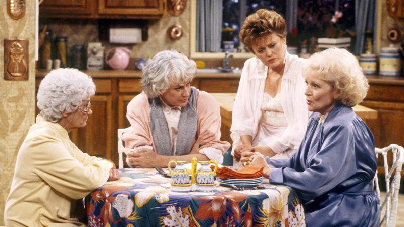 Estelle Getty, Bea Arthur, Rue McClanahan, Betty White The Golden Girls