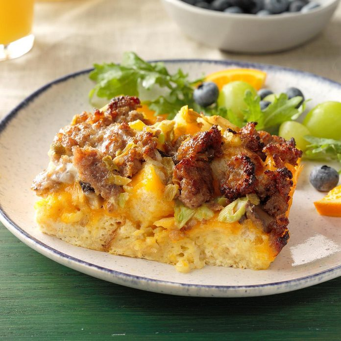 1st Place: Green Chili Brunch Bake