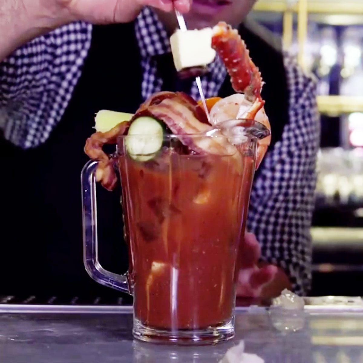 Seafood Bloody Mary