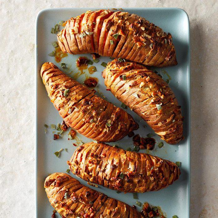 Hasselback Sweet Potatoes
