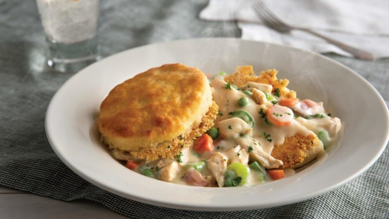 The Parmesan Crusted Biscuit Pot Pie