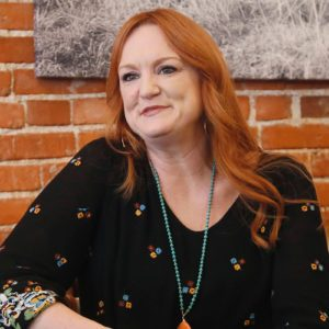 Ree Drummond is pictured during an interview
