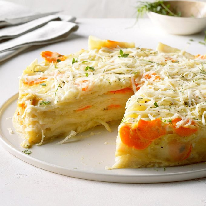 Root Vegetable Pave