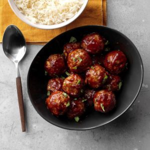 Sneaky Turkey Meatballs