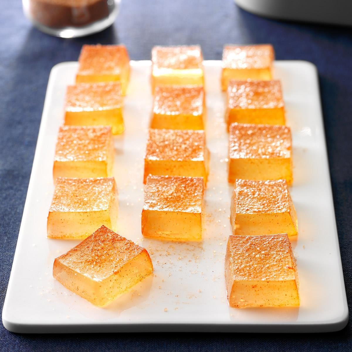 Spiced Apple Cider Jelly Shots