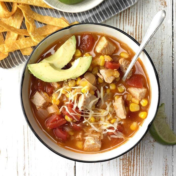 Weeknight Turkey Tortilla Soup Exps Sdon18 55924 C06 19 1b 2