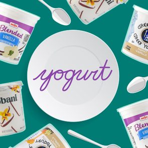 Yogurt Plate