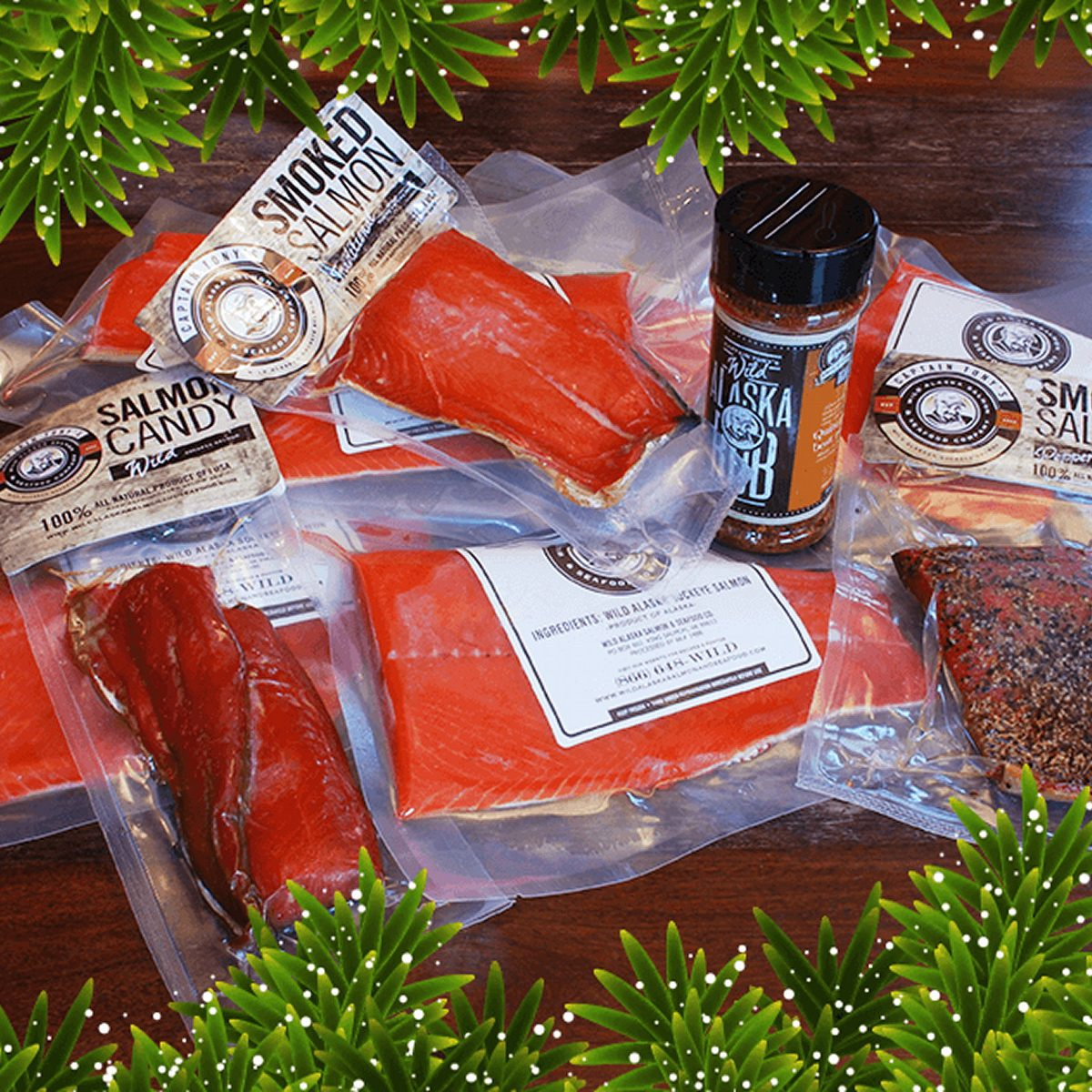 Salmon gift pack
