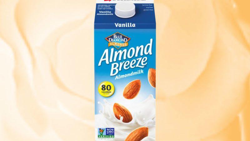 Vanilla Almond Breeze milk