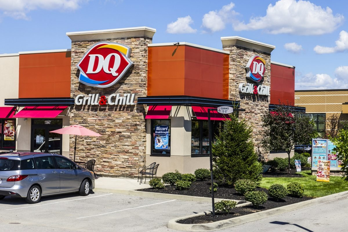 Dairy Queen Retail Fast Food Location.