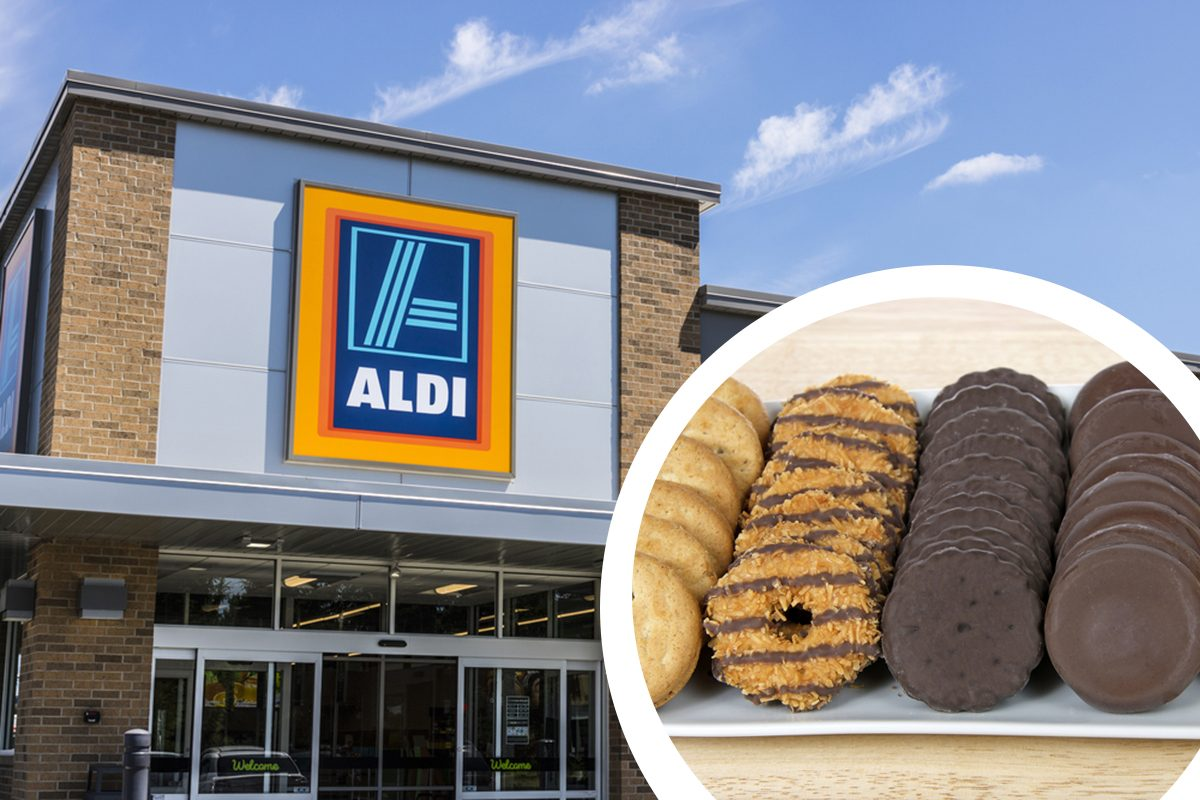Aldi Sells Copycat Girl Scout Cookies All Year Long
