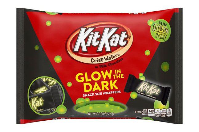 glow-in-the-dark kit kat bar
