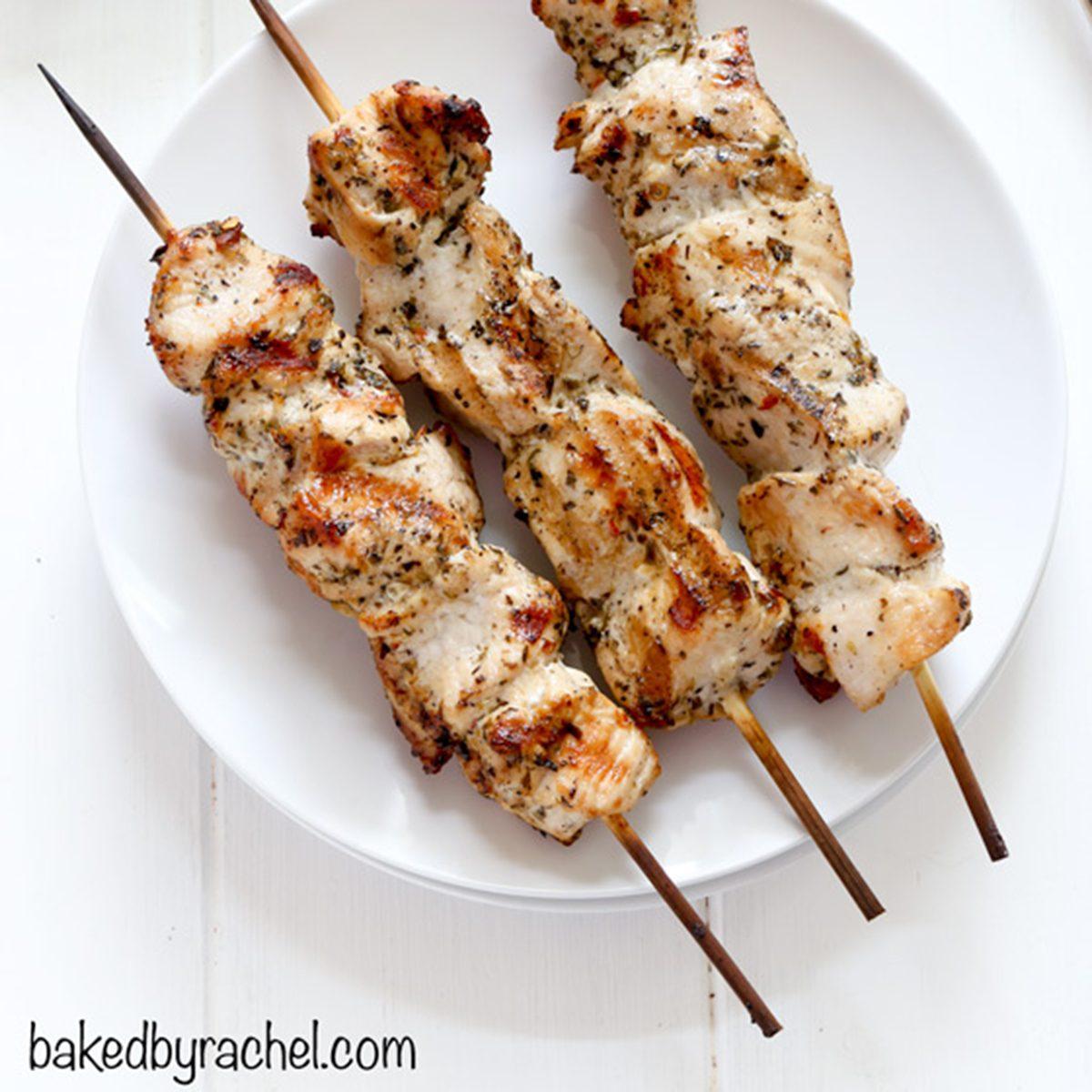 italian chicken kabobs