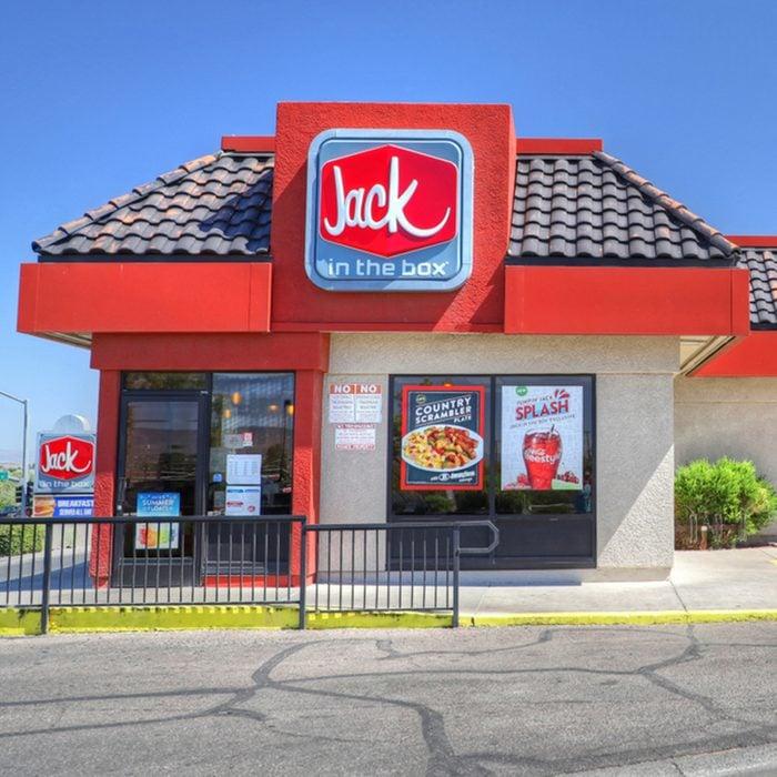 Jack in the Box fast food hamburger restaurant