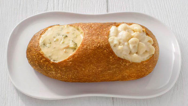 Panera double bread bowl