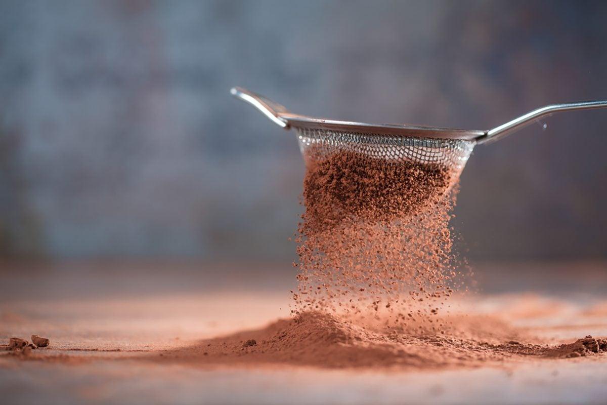 Cocoa powder sweet ingredient