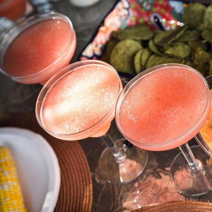 Strawberry margarita cocktails; Shutterstock ID 310081457; Job (TFH, TOH, RD, BNB, CWM, CM): Taste of Home