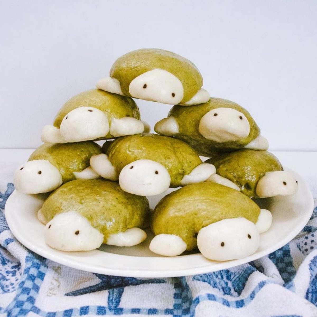 turtle shaped steam buns