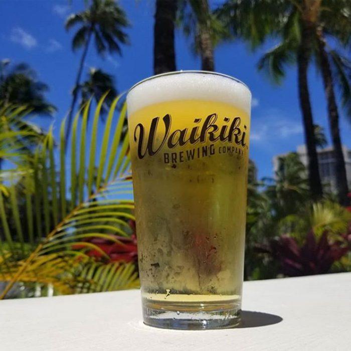 Waikiki beer