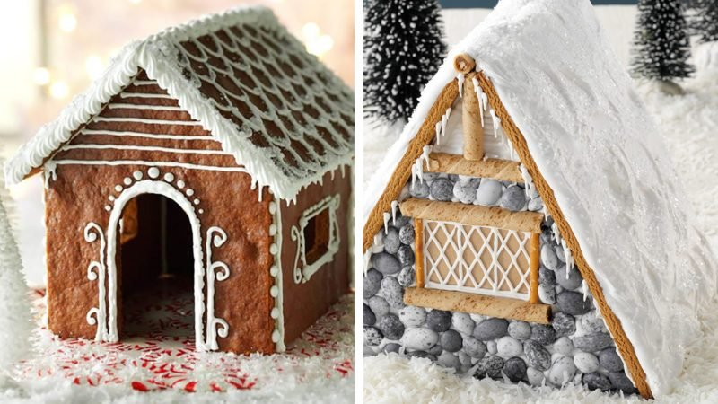 How to Build a Gingerbread House Beauty