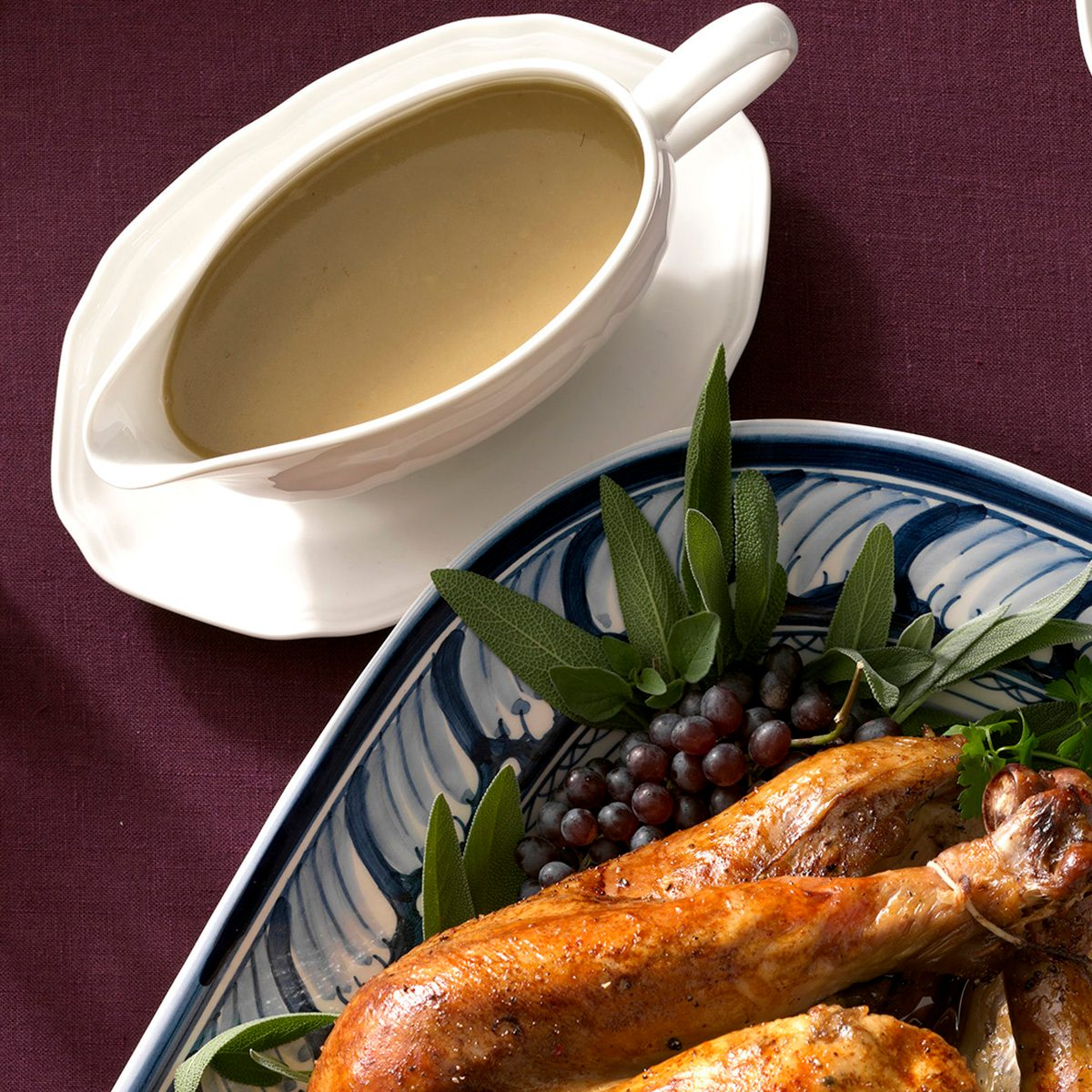 Traditional Thanksgiving Gravy Boat