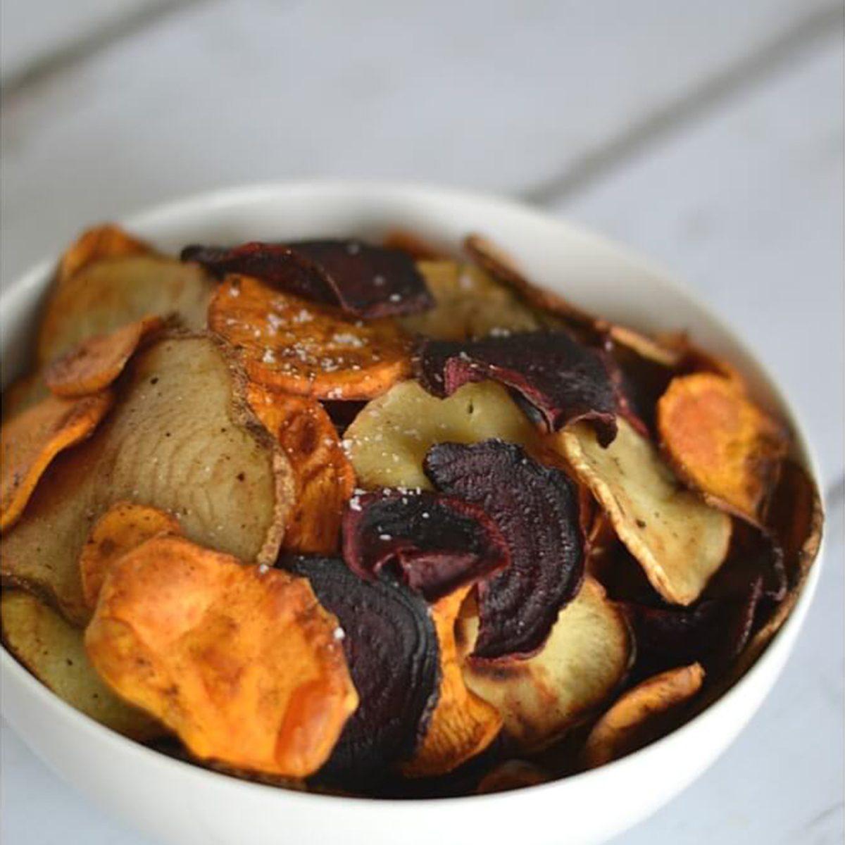 Homemade terra chips