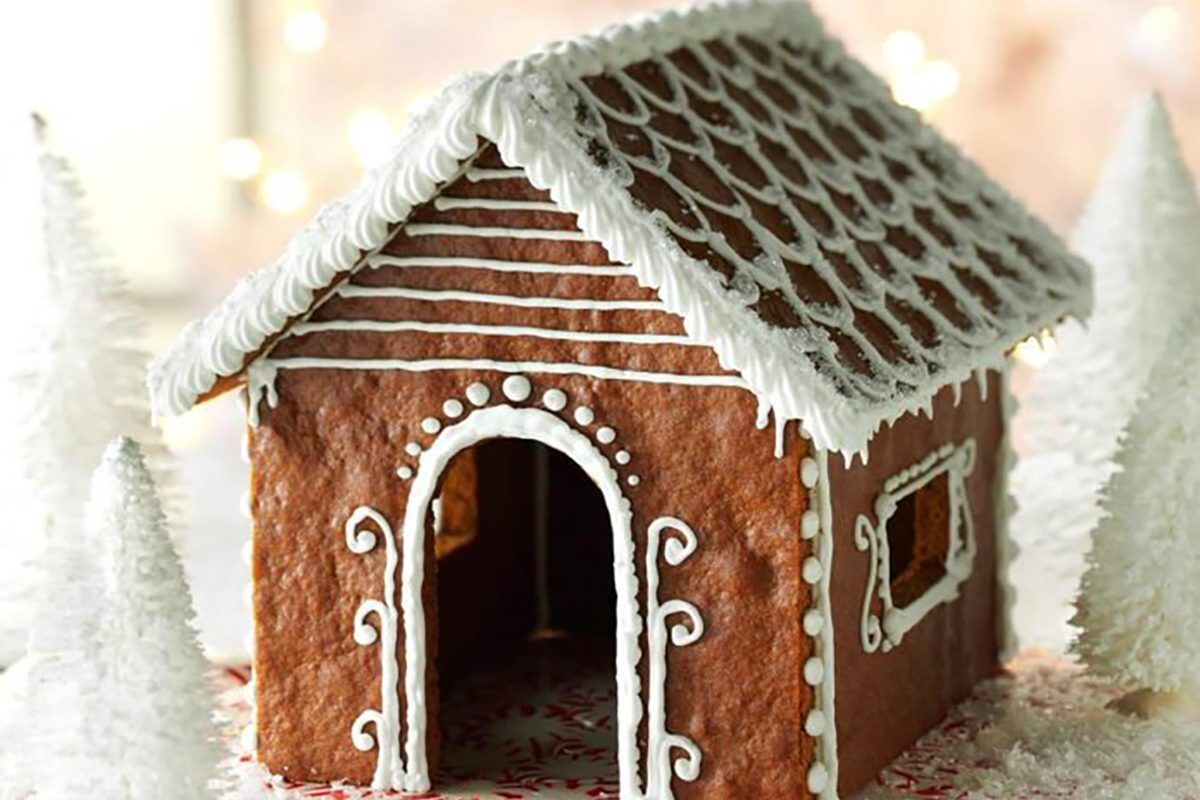 How to Build a Gingerbread House Homemade