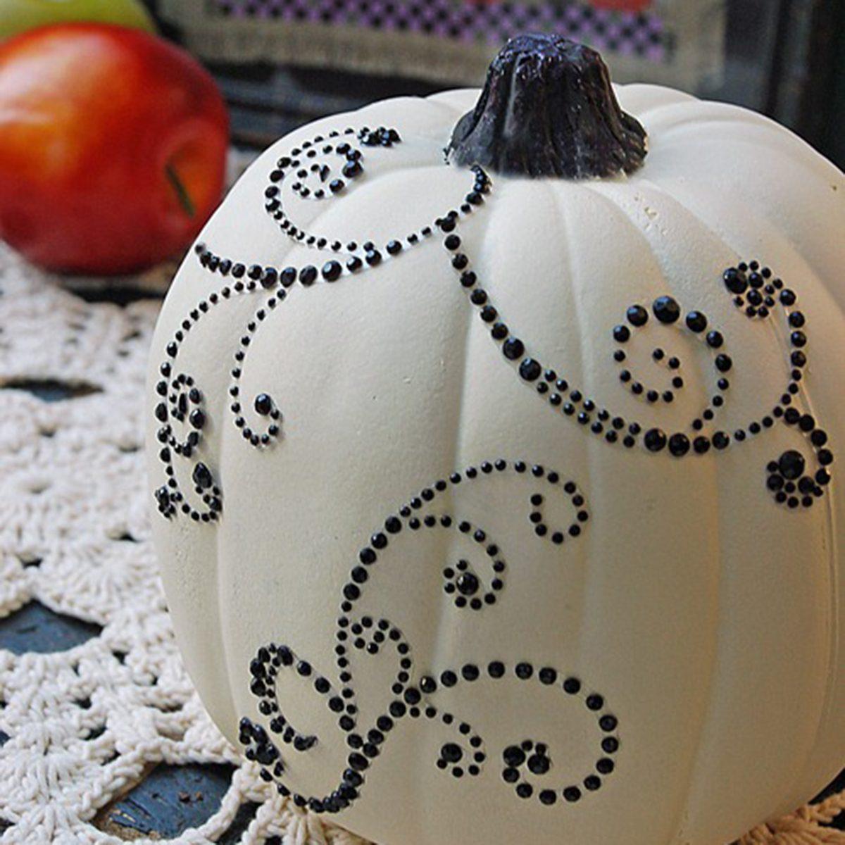 Jeweled pumpkin