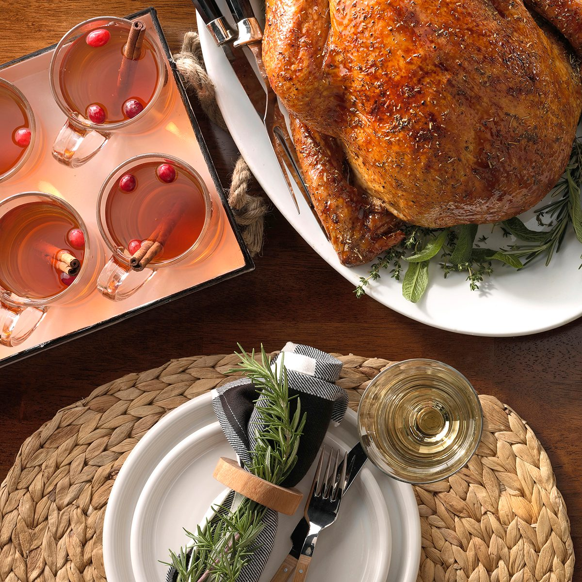 Country Thanksgiving Placemats
