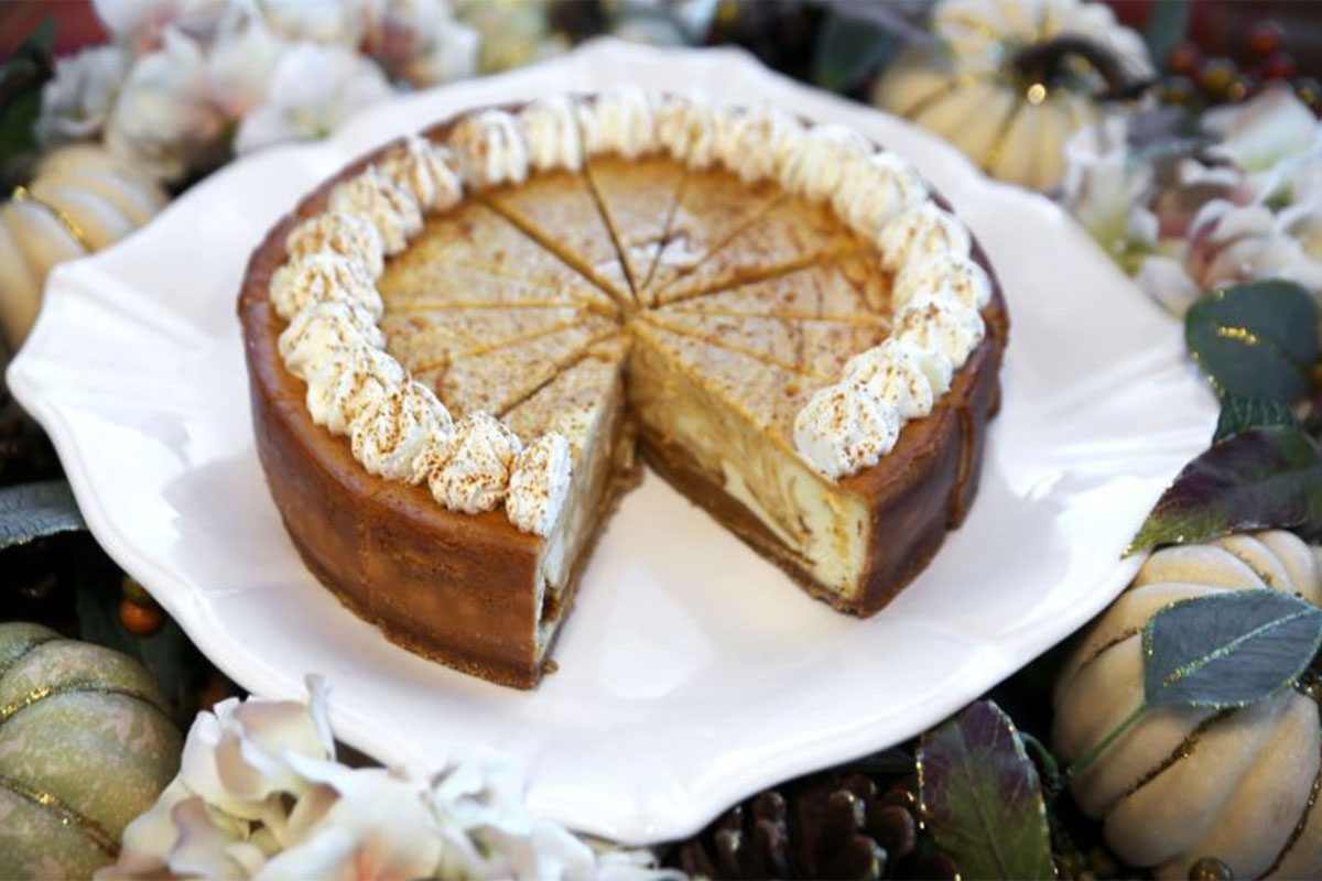 Sam's Club's 4-Pound Pumpkin Cheesecake Is Back and We're SO Excited