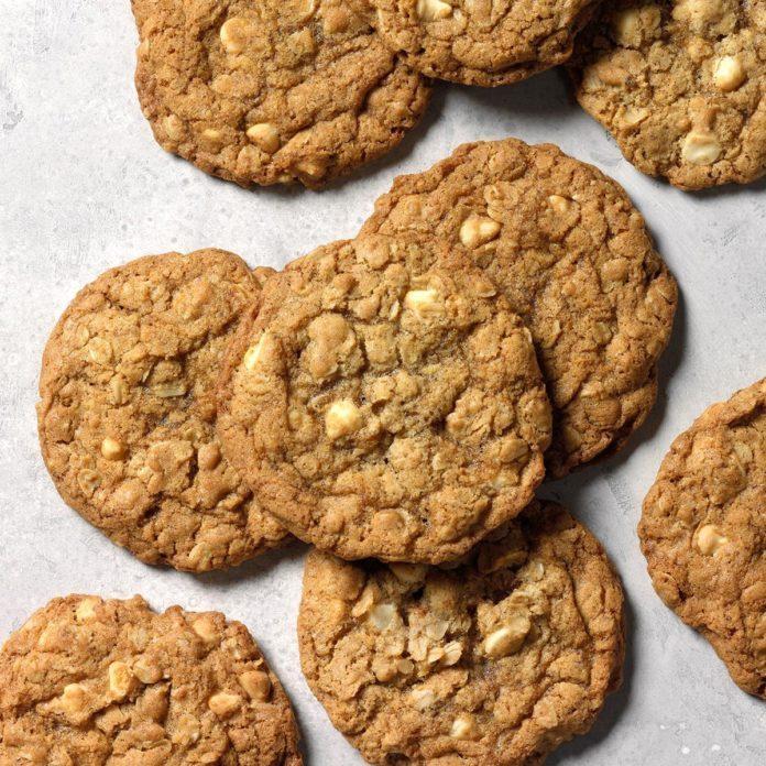 Sea Salt Mint White Mocha Cookies