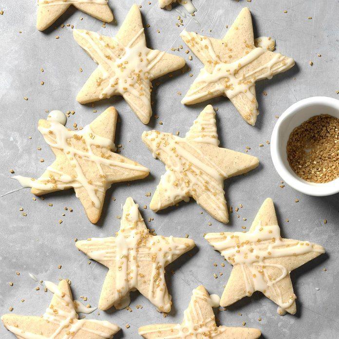 Spiced Eggnog Rum Cookies