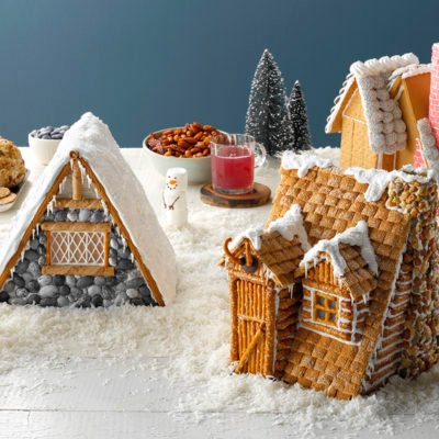 How to Build a Gingerbread House Store Bought
