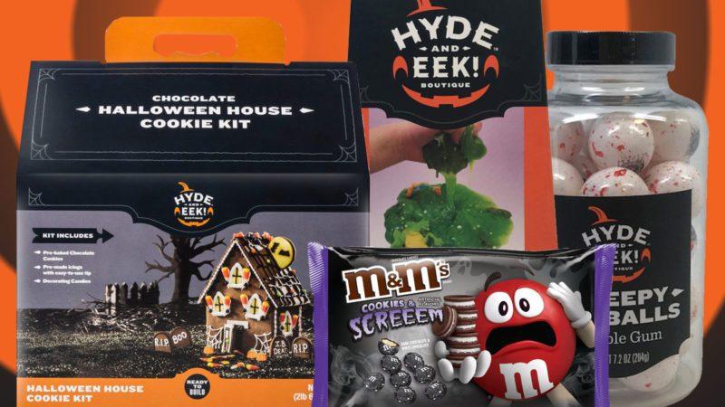 Exclusive Target Halloween candies