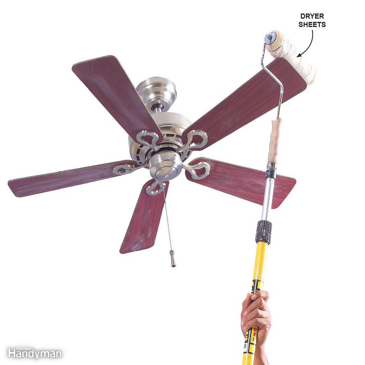 cleaning ceiling fan
