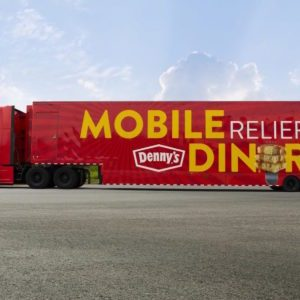 Denny's Rolls Out Mobile Relief Diner To Help Feed Hurricane Florence Victims