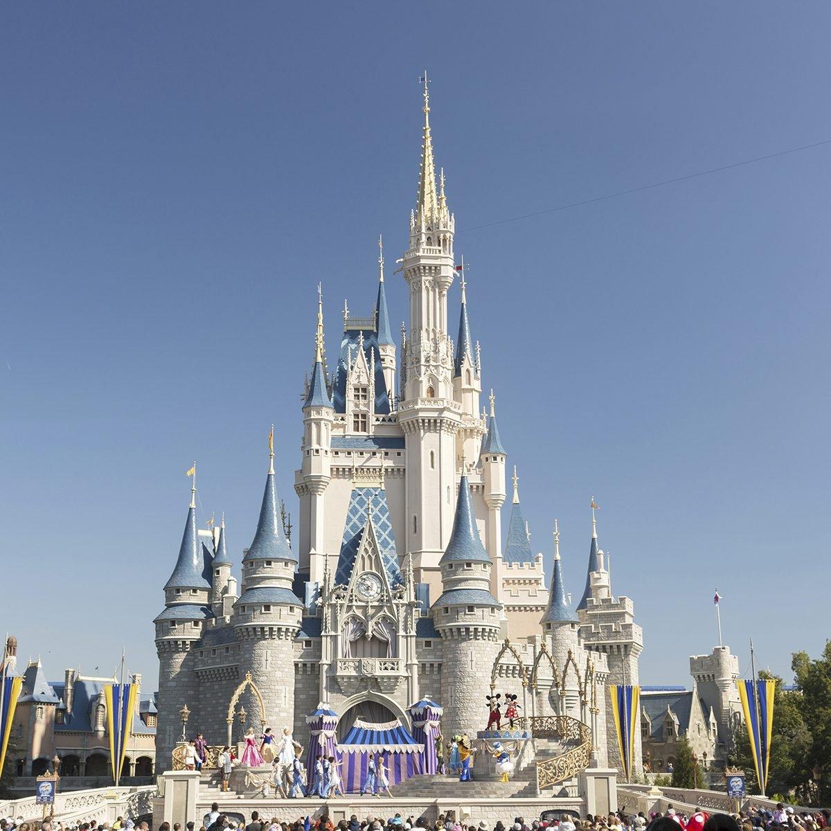 Cinderella Castle in the Magic Kingdom, Walt Disney World Resort