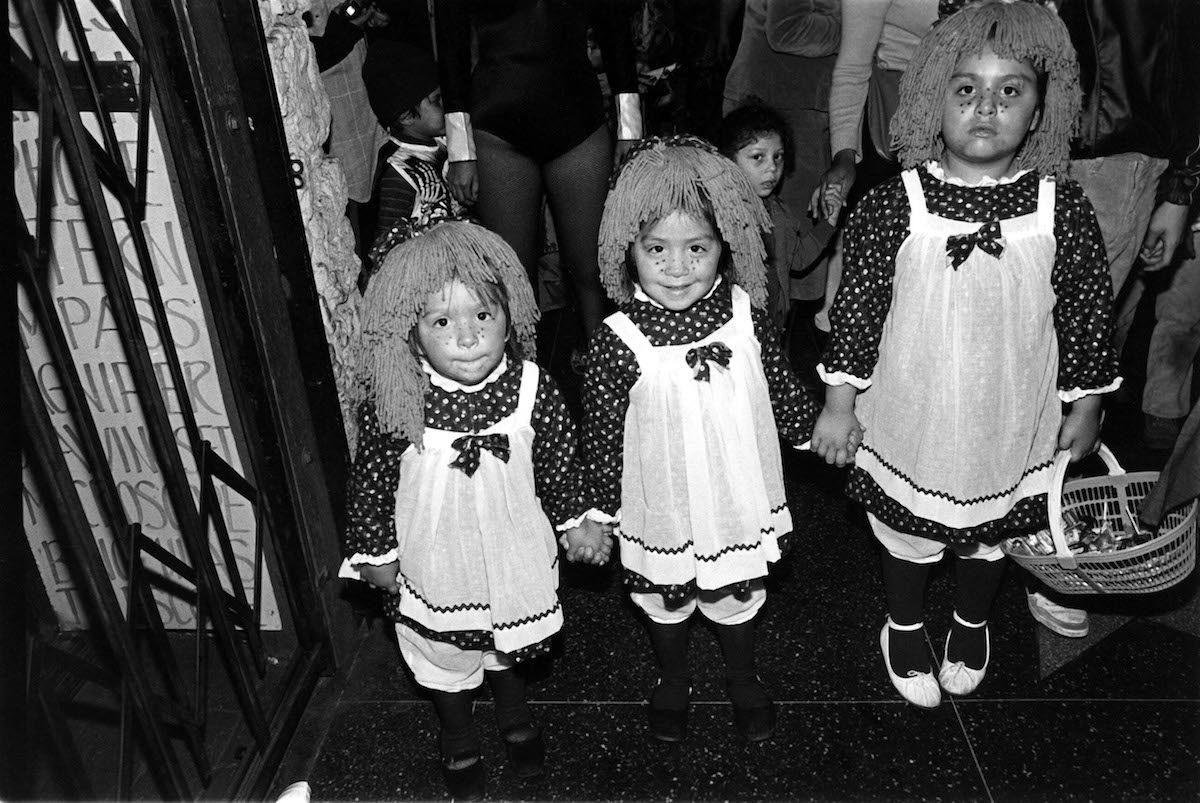 HALLOWEEN CELEBRATION HALLOWEEN IN HOLLYWOOD, AMERICA - 1985