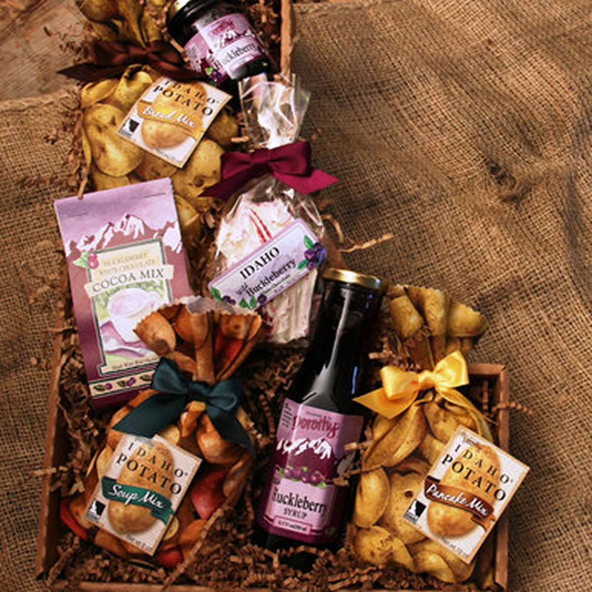 potatoes and huckleberries gift