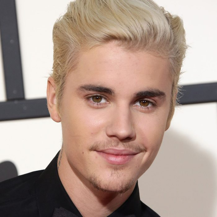 Mandatory Credit: Photo by Jim Smeal/REX/Shutterstock (5587172et) Justin Bieber 58th Annual Grammy Awards, Arrivals, Los Angeles, America - 15 Feb 2016