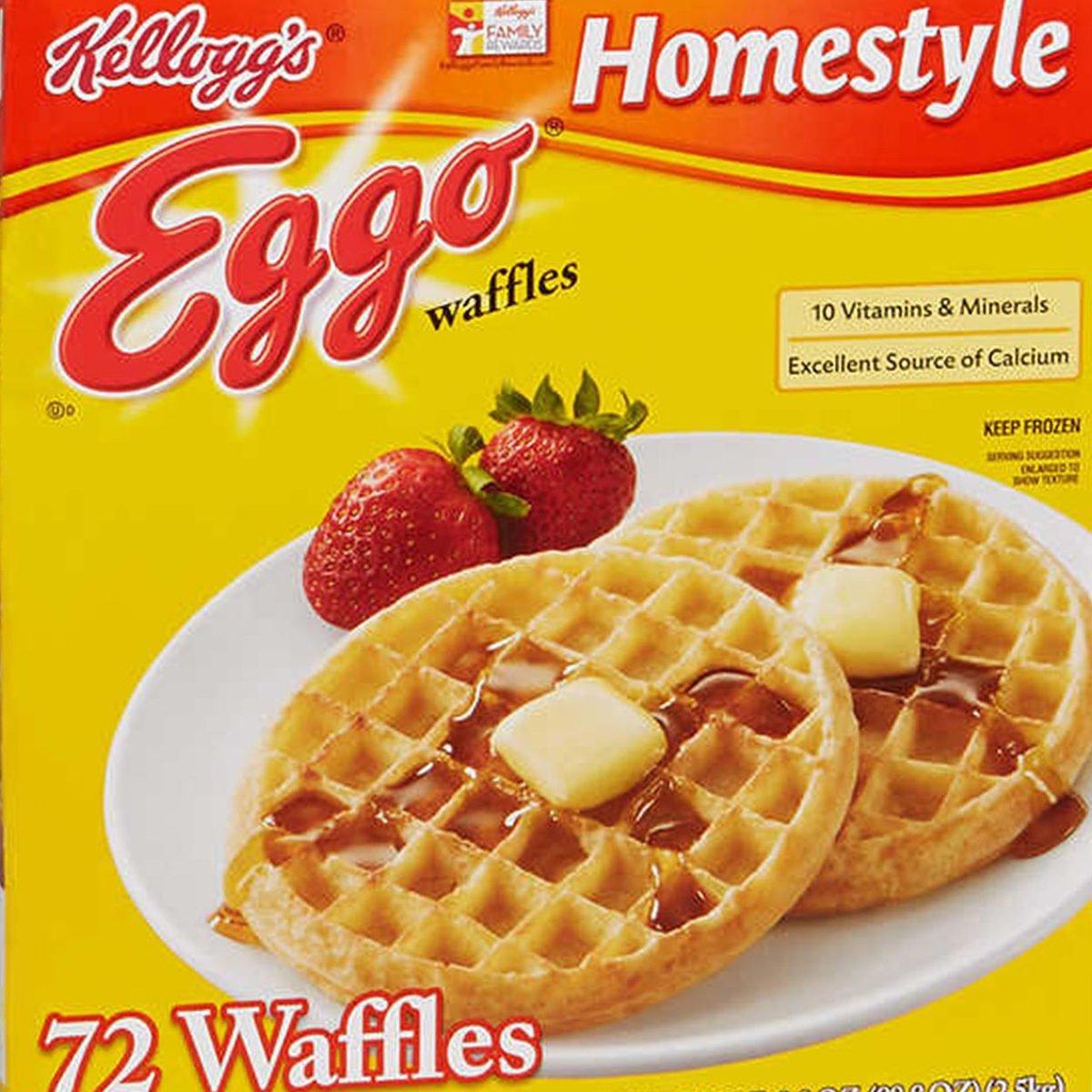 Frozen Eggo waffles