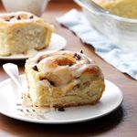 Sweet and Spicy Chocolate Chip Cinnamon Rolls