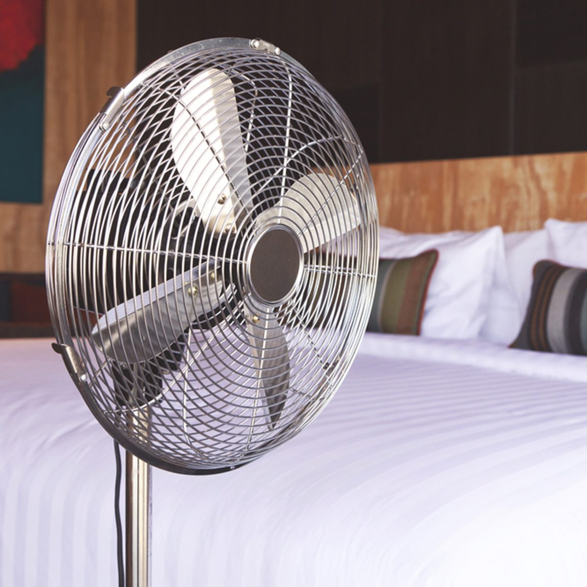electric fan in the room; Shutterstock ID 336276917; Job (TFH, TOH, RD, BNB, CWM, CM): Taste of Home