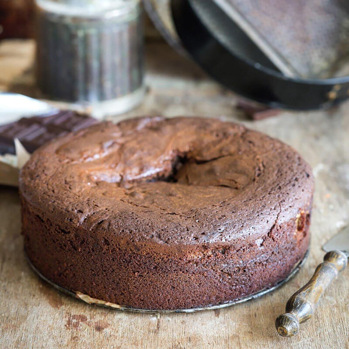 sunken cake
