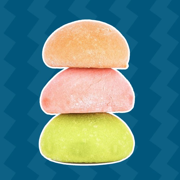 Mochi stack