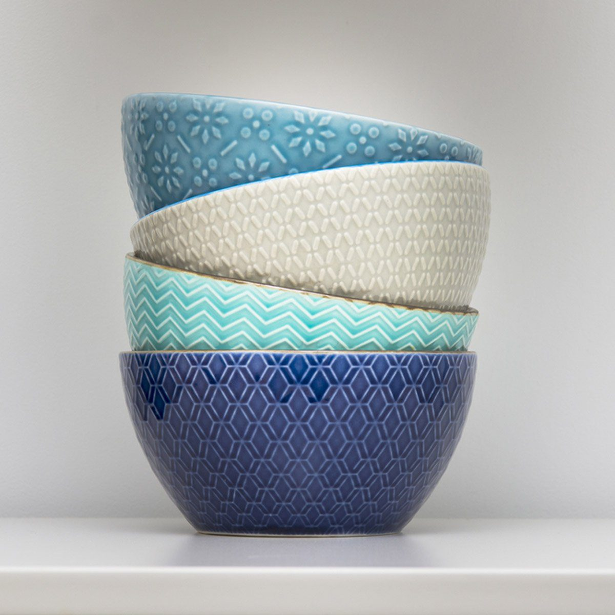 Stack of small bowls