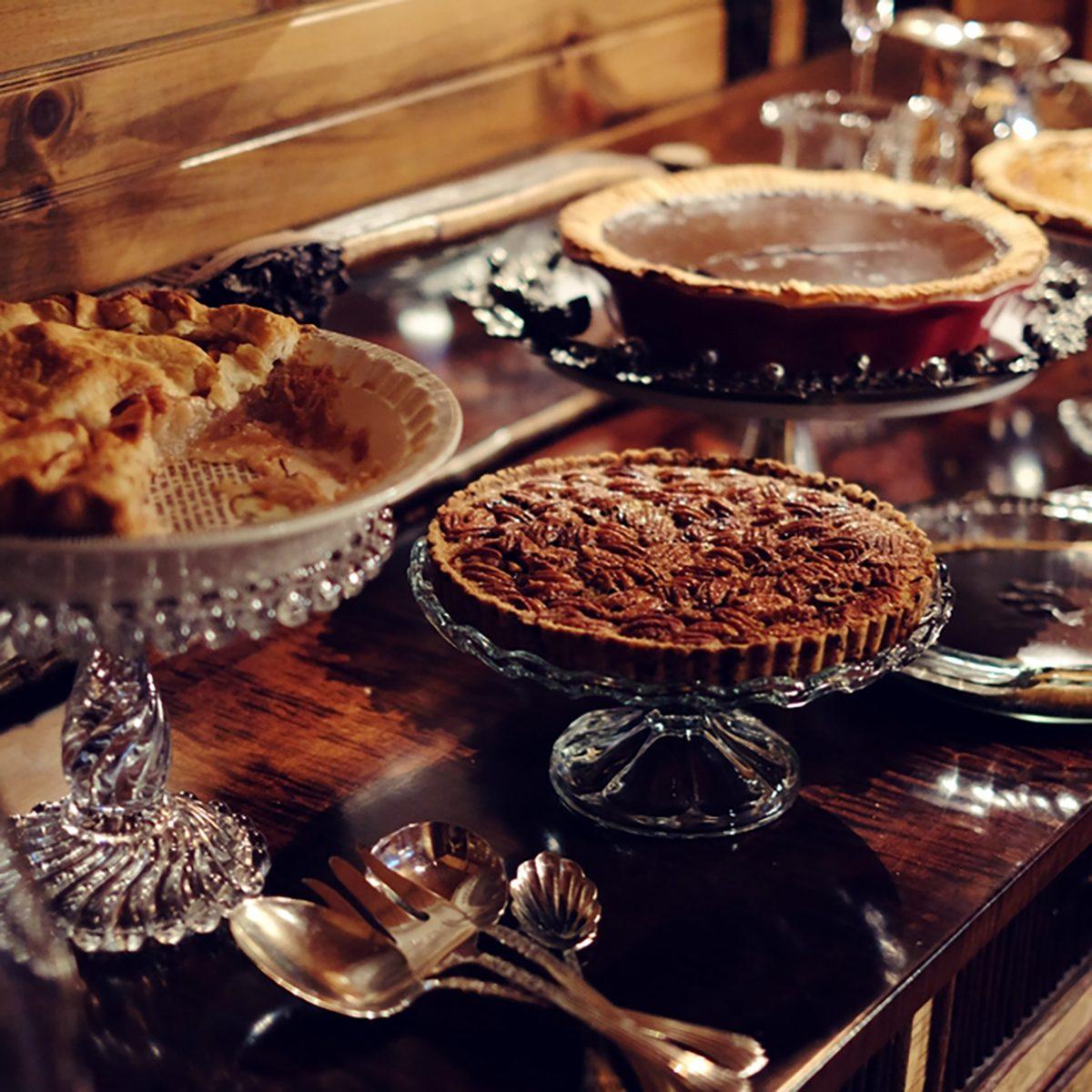 Thanksgiving home made pie assortment
