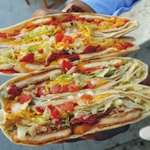 Taco Bell tortada
